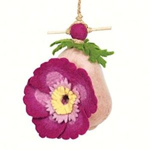 NEW !!!!! Handmade Felted Birdhouse